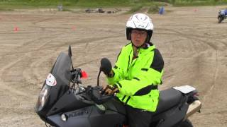 Download How to Power Slide a Motorcycle Video