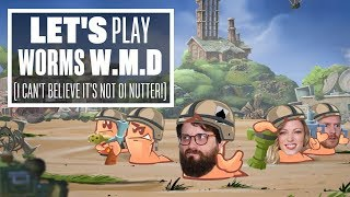 Download Let's Play Worms WMD with Aoife, Ian and Johnny - STREAMERS OF MASS DISASTER! Video