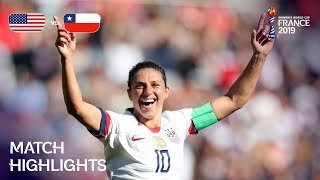 Download USA v Chile - FIFA Women's World Cup France 2019™ Video
