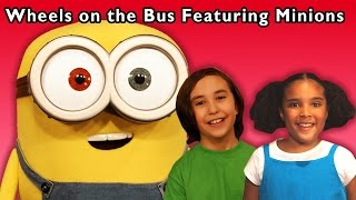 Download Minions Dance Party | The Wheels on the Bus and More | Baby Songs from Mother Goose Club! Video