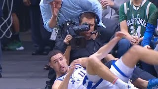 Download Klay Thompson Gets Fan Ejected for Cursing at Him! Warriors vs Bucks Video