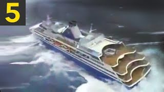 Download Top 5 Cruise Ships in Heavy Seas Video