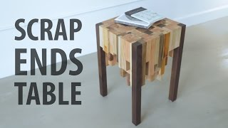 Download Scrap Ends Table Video
