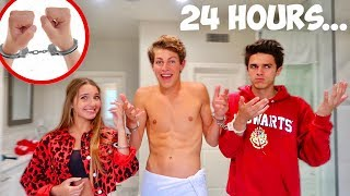 Download Handcuffed To Brent And Lexi For 24 Hours! (bad idea) Video