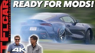 Download The 2020 Toyota Supra Is Super Easy To Modify Because Toyota Designed it That Way! Video