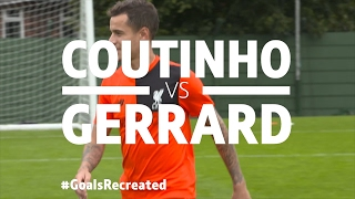 Download Coutinho v Gerrard | Iconic Olympiacos stunner for BT Sports' #GoalsRecreated Video