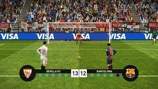 Download Sevilla vs Barcelona | Penalty Shootout | PES 2019 Gameplay PC Video