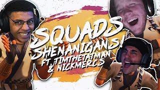 Download SQUAD SHENANIGANS! Ft. TimTheTatman & Nickmercs (Fortnite BR Full Match) Video