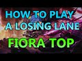 Download HOW TO PLAY FROM BEHIND: FIORA TOP - Full Gameplay Commentary Video