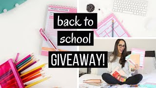 Download BACK TO SCHOOL SUPPLIES HAUL + GIVEAWAY Video