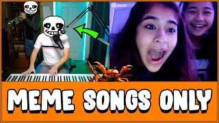 Download Two Musicians Play MEME Songs on Omegle Video