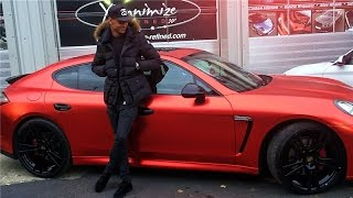 Download MY NEW SATIN RED CHROME PORSCHE!!! Video