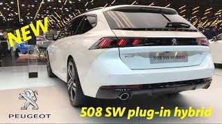 Download New Peugeot 508 SW GT Plug-in Hybrid 2019 - first look in 4K Video