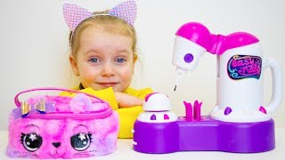 Download Gaby and Alex Pretend Play with Mama and Toys | Compilation video for kids Video