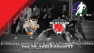 Download Syracuse Silver Knights vs Chicago Mustangs Video