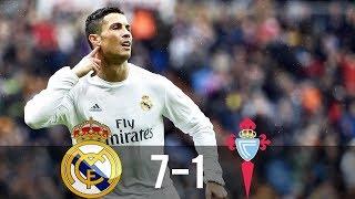 Download Real Madrid vs Celta Vigo 7-1 - All Goals & Extended Highlights - La Liga 05/03/2016 HD Video
