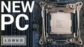 Download MY NEW PC BUILD! (Intel i9-7900X, 1080 Ti, 64 GB DDR4, Kraken X62) Video