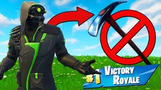 Download Winning With *NO PICKAXE* Challenge In Fortnite Battle Royale! Video