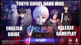 Download Tokyo Ghoul Dark War - Tutorial Guide - English Major Tips - Release Gameplay Video