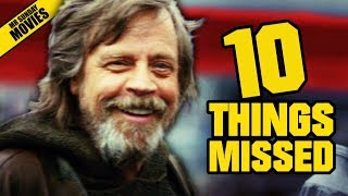Download STAR WARS: THE LAST JEDI D23 Trailer - Things Missed & Easter Eggs Video