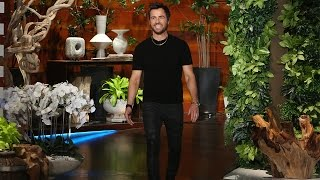 Download Justin Theroux on Wife Jennifer Aniston and His On-Set Injuries Video