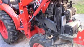 Download How to Do 50 Hour Maintenance on a Kubota L3301 HST Tractor Video