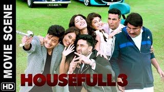 Download Akshay, Riteish, Abhishek meet Boman | Housefull 3 | Movie Scene Video
