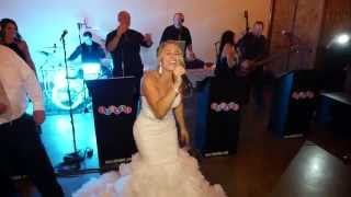 Download The bride sings Don't Stop Believing at her own wedding. by Just Joey Productions Video