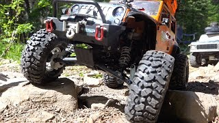 Download TTC 2018 Eps. 1 - BRUTAL HiLL CLiMB - Scale 4x4 Truck Challenge | RC ADVENTURES Video