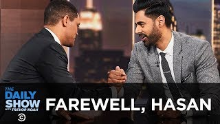 Download Hasan Minhaj Says Goodbye to The Daily Show | The Daily Show Video