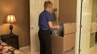 Download Moving Tips - United's Expert Advice: How to Pack your Bedroom Video