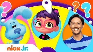 Download Adventures w/ PAW Patrol, Blue's Clues & You, & Bubble Guppies 🤠 Spin the Wheel of Friends Ep. 3 Video