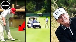 Download How Trump Cheats At Golf (PATHETIC And HILARIOUS) Video