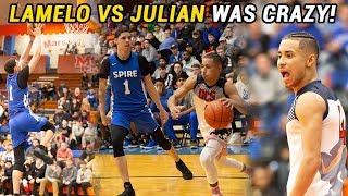 Download LaMelo Ball vs Julian Newman Got CRAZY!!! LaMelo Gets TRIPLE DOUBLE In BIG DUB 🔥 Video