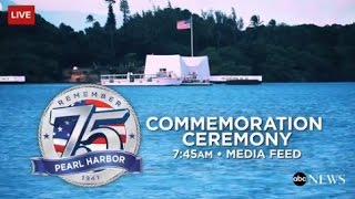 Download 75th National Pearl Harbor Remembrance Day Celebration Video