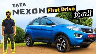 Download Tata Nexon Review in Hindi - Road Test   ICN Studio Video