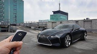 Download Lexus LC 500 5.0 V8 477 hp TEST POV Drive & Walkaround English Subtitles Video