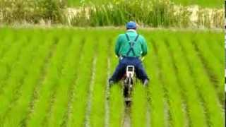 Download オータケ簡易乗用溝切機.mpg Riding type paddy field furrow opener Video