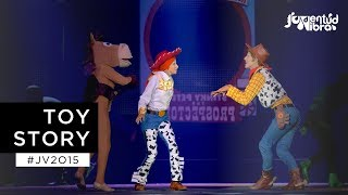 Download Toy Story Live Show - Juventud Vibra 2015 Video
