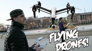 Download FLYING DRONES!!!! Video
