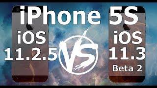 Download iPhone 5S : iOS 11.3 Beta 2 vs iOS 11.2.5 Speed Test Build 15E5178f Video