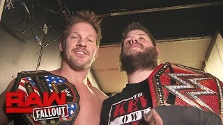 Download Chris Jericho celebrates his U.S. Title win with his best friend: Raw Fallout, Jan. 9, 2017 Video
