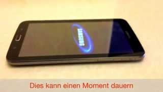 Download Samsung Tab 3 Hardreset german deutsch Video