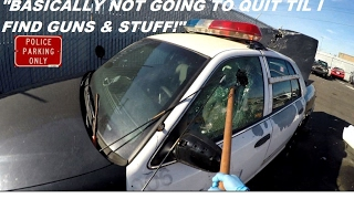 Download Breaking Into Police Car Looking For Guns! Ford Crown Victoria Interceptor Round 2 Video