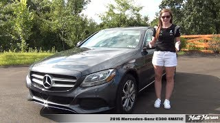 Download My Wife Reviews Her 2016 Mercedes-Benz C300 4MATIC! Video