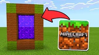 Download How To Make a Portal to the Minecraft Dimension in MCPE (Minecraft PE) Video