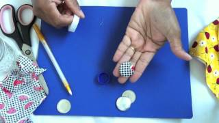 Download How to make Fabric Buttons Video