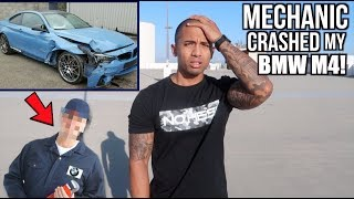 Download Mechanic crashed my NEW 2018 BMW M4! Video