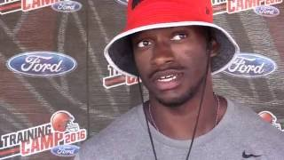 Download Robert Griffin III on being named Browns starting quarterback Video