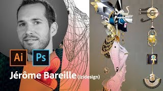 Download Masterclass avec Jérôme Bareille | Design de bijou entre Illustrator et Photoshop | Adobe France Video
